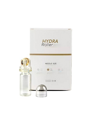 Hydra Roller 64 Altın İğneli Aplikatör Serum Ampul Uygulayıcı 0.25 mm Dermaroller Renksiz